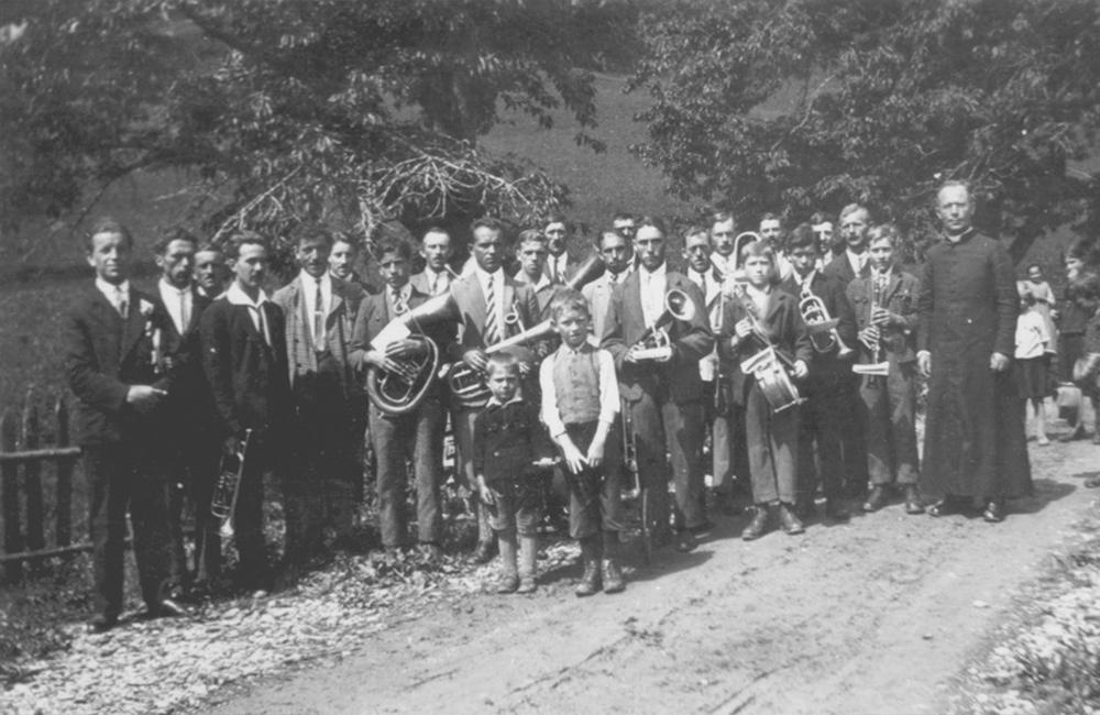 Musikkapelle Ladis 1930