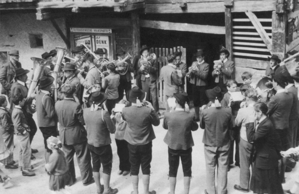 Musikkapelle Ladis 1956