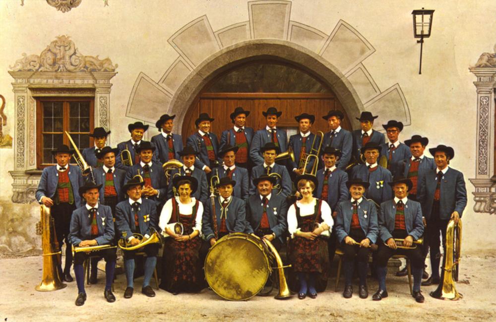 Musikkapelle Ladis 1969