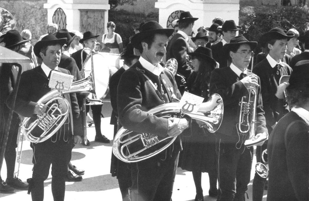 Musikkapelle Ladis 1983