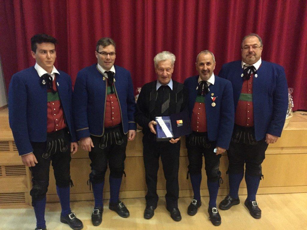 80. Geburtstag von Ehrenmitglied Karl Heiseler