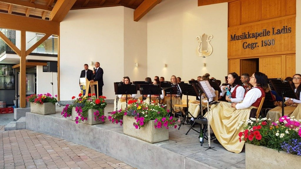 Kirchtag in Ladis