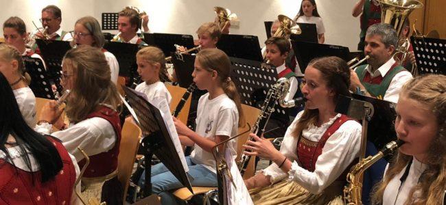 Sommerkonzert mit den Nachwuchsmusikanten