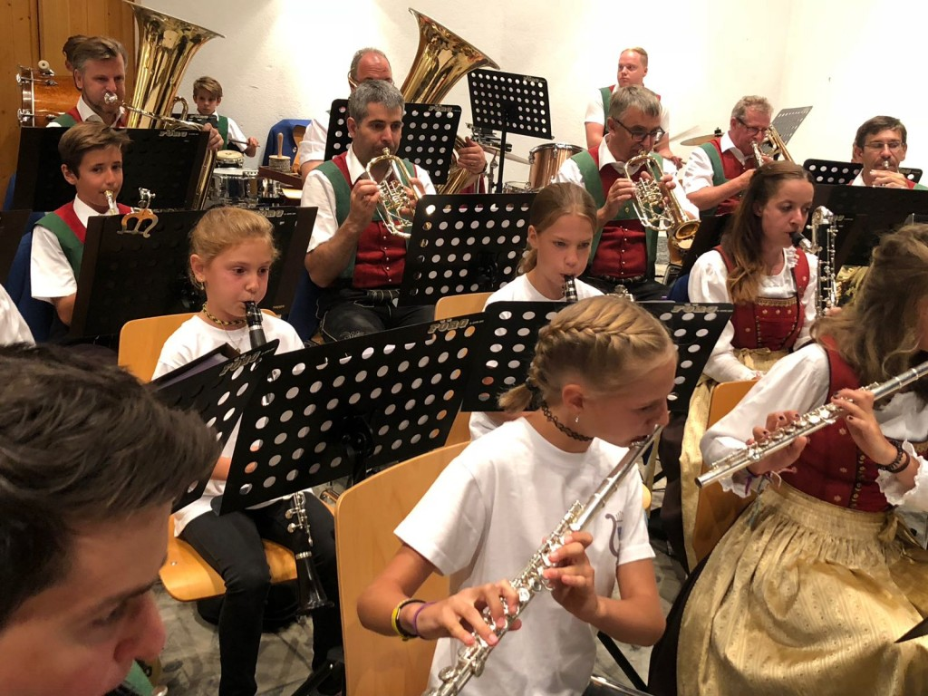 Sommerkonzert mit den Musikschülern