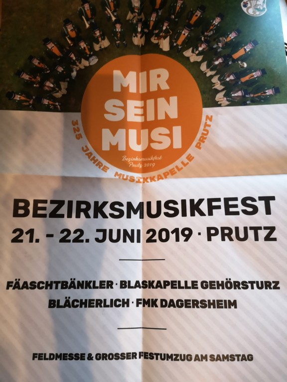 Bezirksmusikfest in Prutz