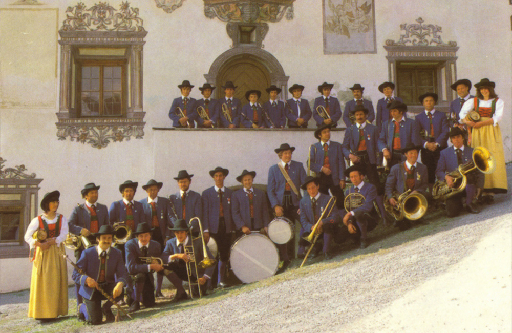 Musikkapelle Ladis 1981