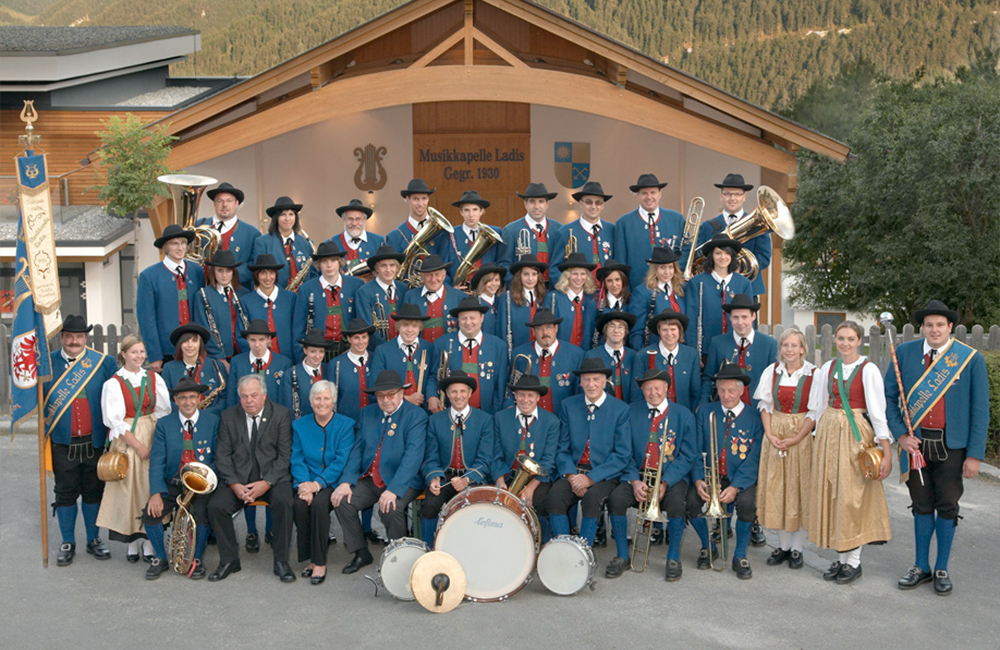 Musikkapelle Ladis 2008