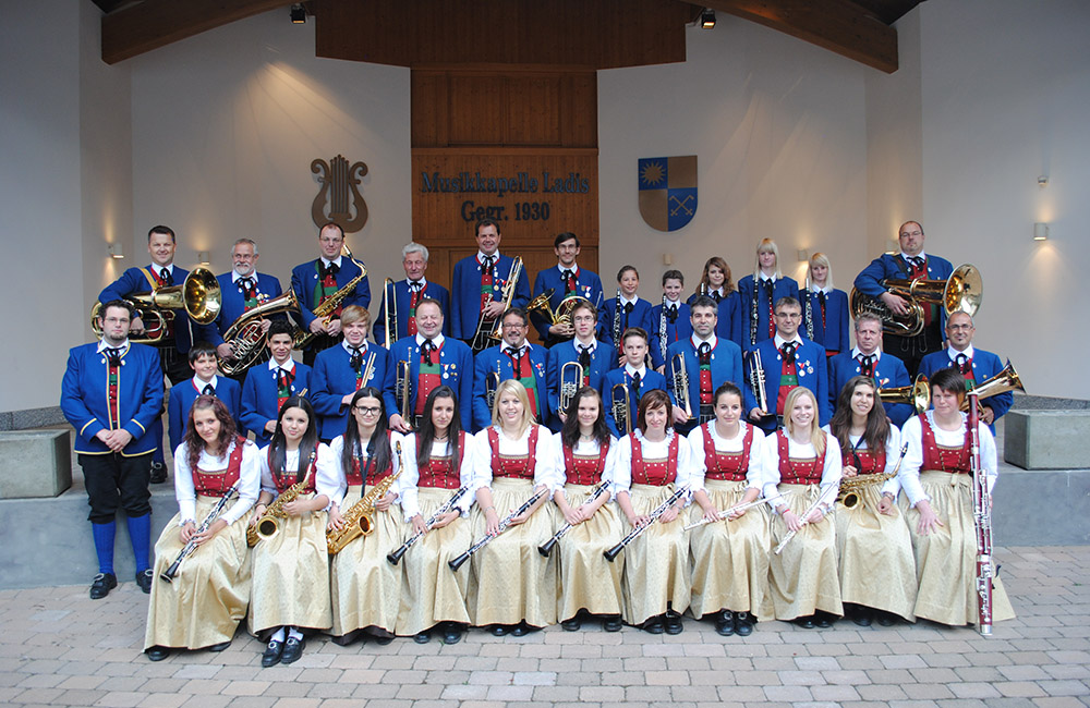Musikkapelle Ladis 2012