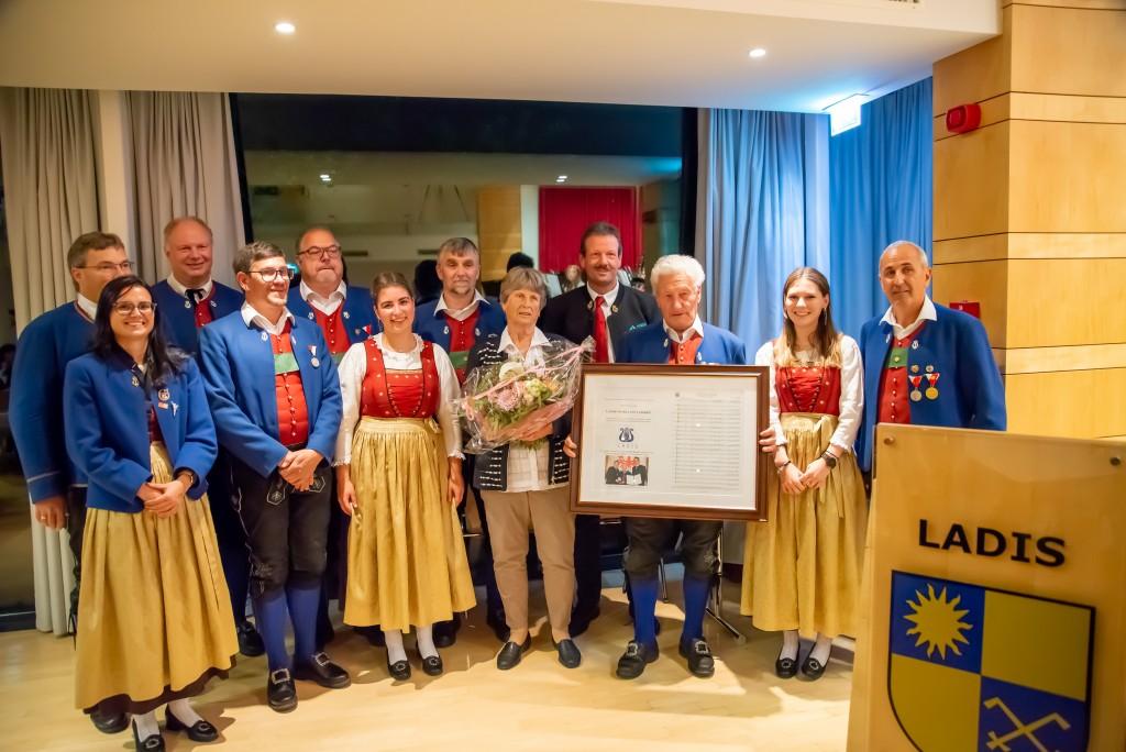 91 Jahre Musikkapelle Ladis - 71 Jahre Karl Heiseler